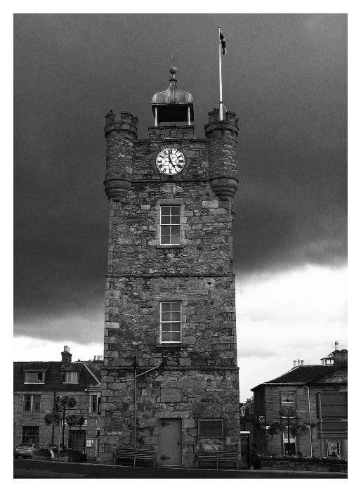 Clock Tower in Dufftown