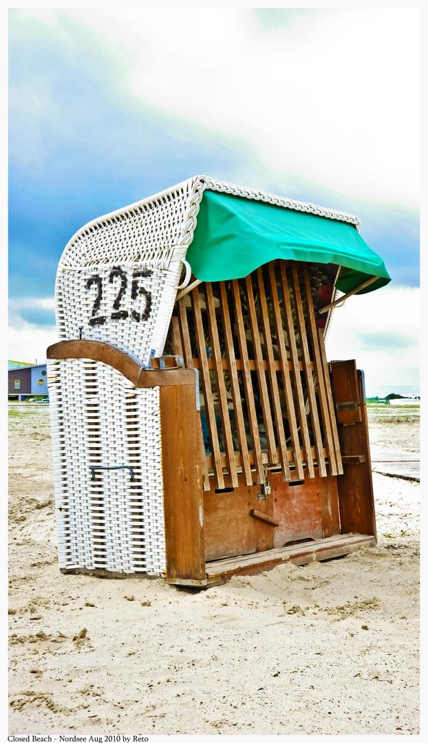 Closed Beach