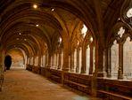 Cloître de l'abbaye de La Chaise Dieu