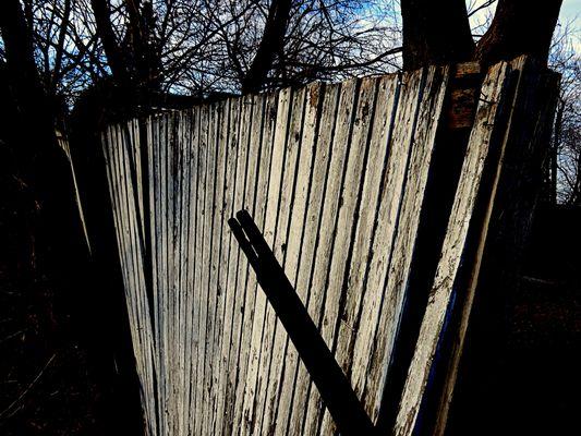 clôture à rafraîchir