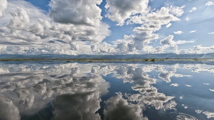 Clouds, Inle Lake