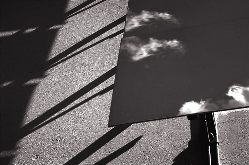clouds on the wall