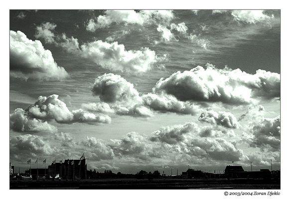 Clouds over Copenhagen