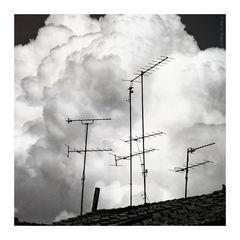 Clouds over León