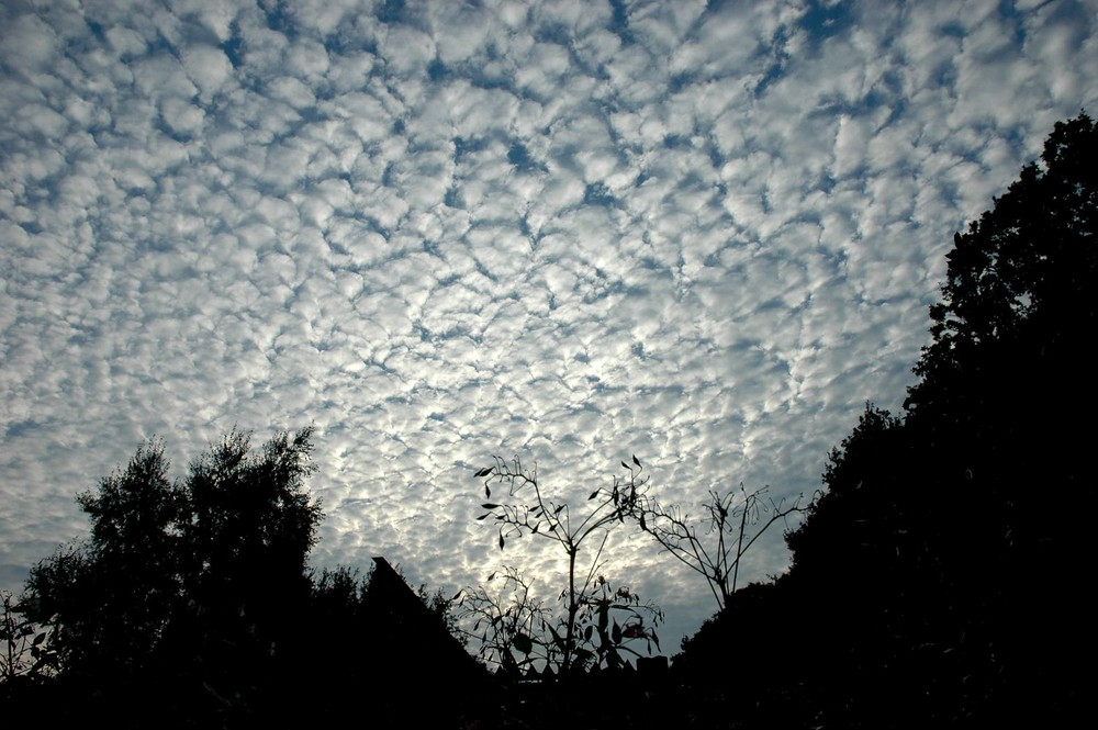 Clouds over Wedde.