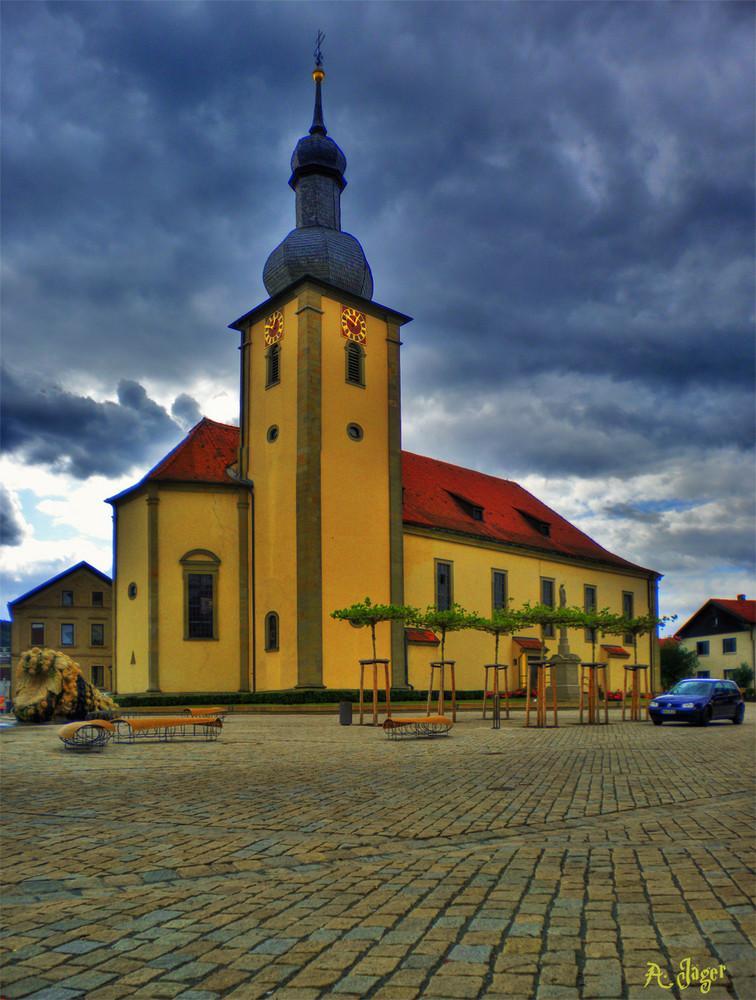 Cloudy Church