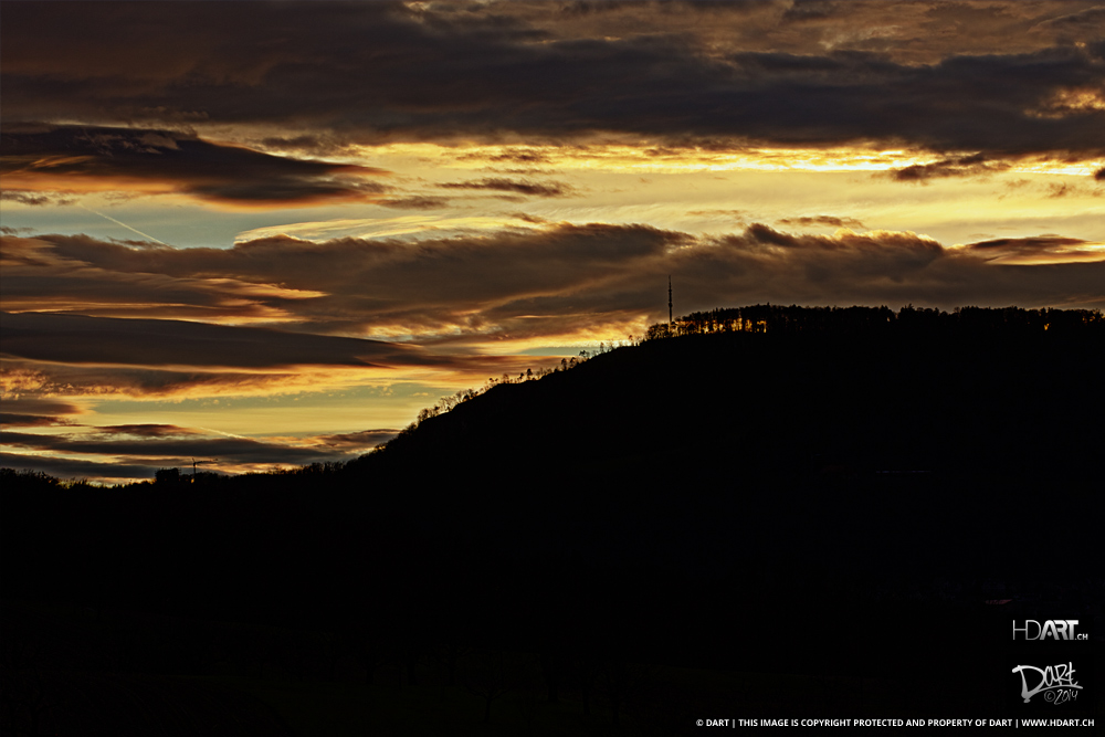 Cloudy Hill I