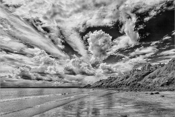 - cloudy sky -