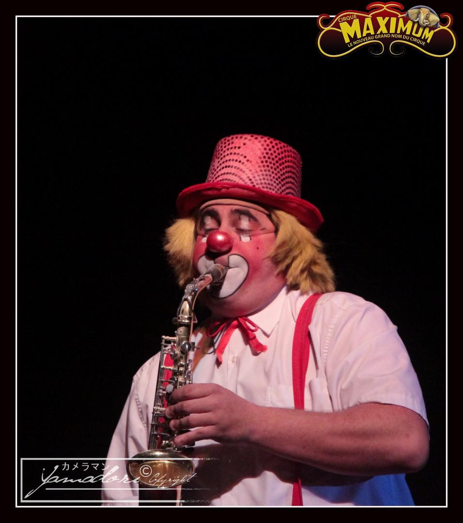 """Clown """"haut"""" sax. ..."""