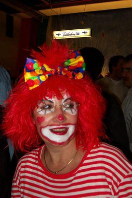 Clown im Karneval