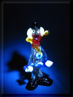 Clown im Rampenlicht ......