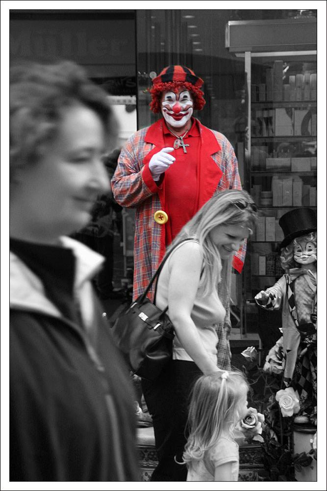 Clown ja oder nein?