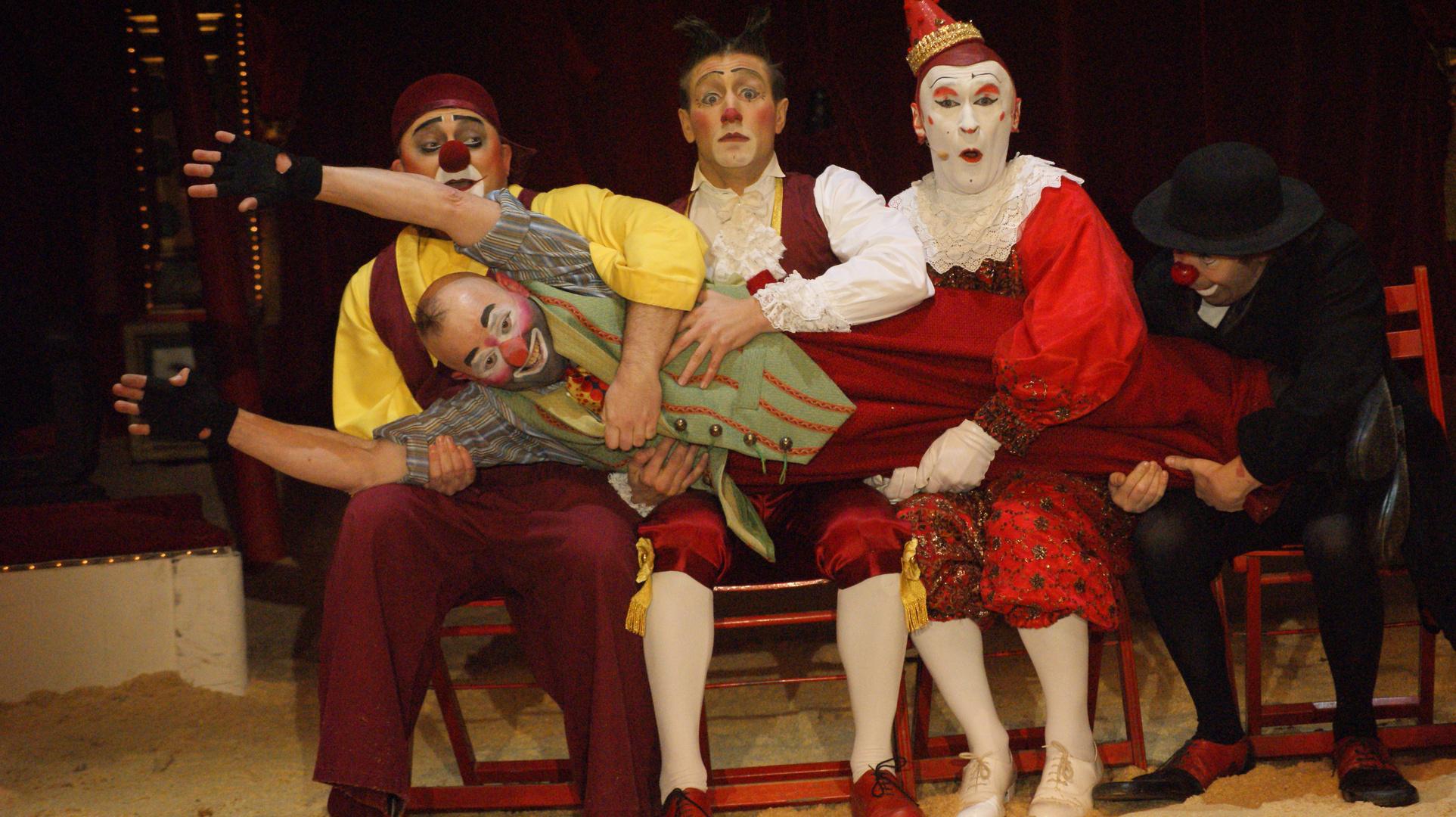 Clowns im Circus Roncalli (2)