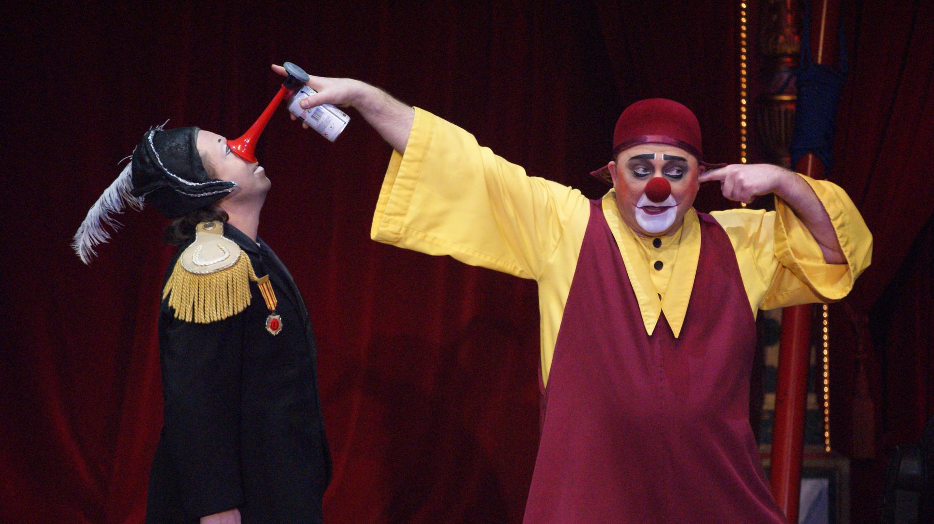 Clowns im Circus Roncalli (3)