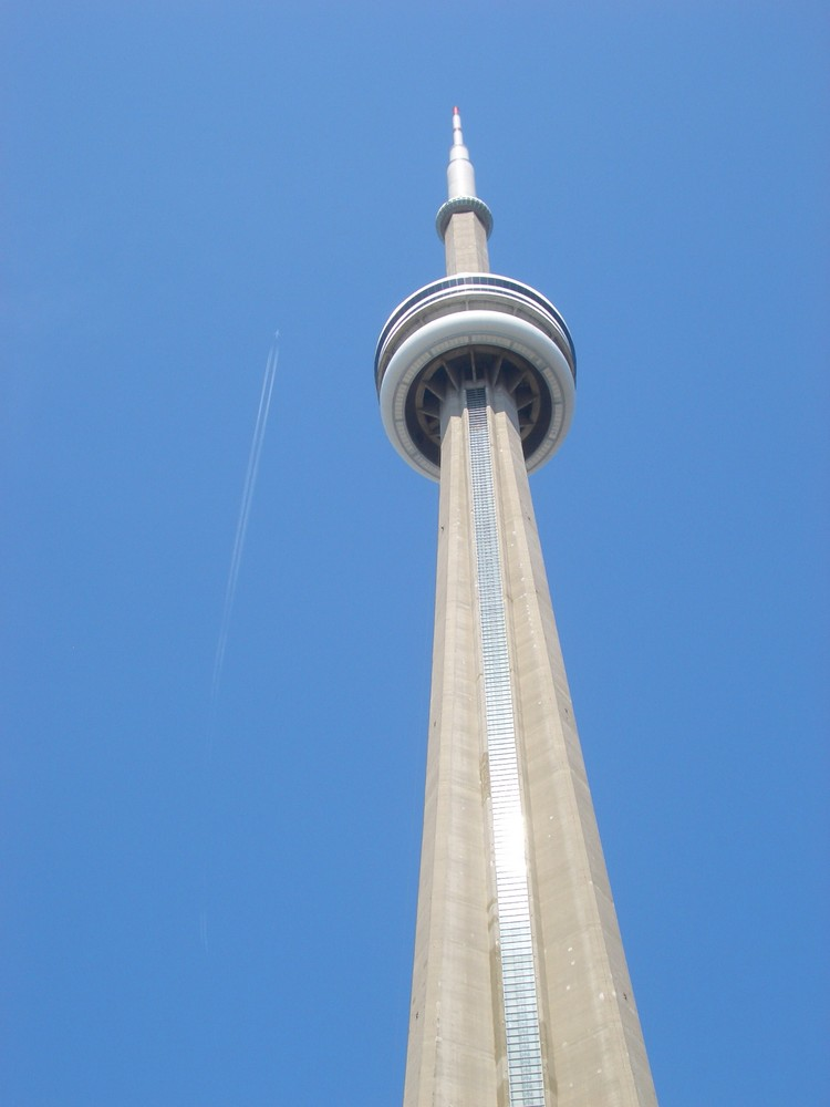 CN Tower flyby