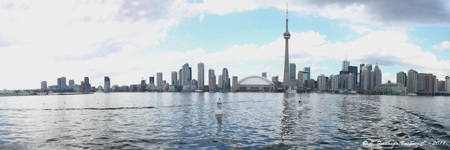 CN Tower Panoramic wiew