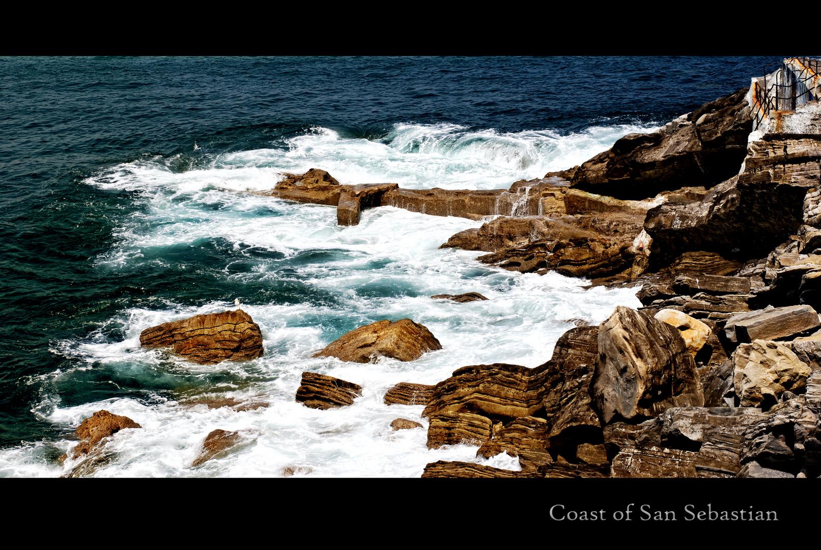 Coast of San Sebastian