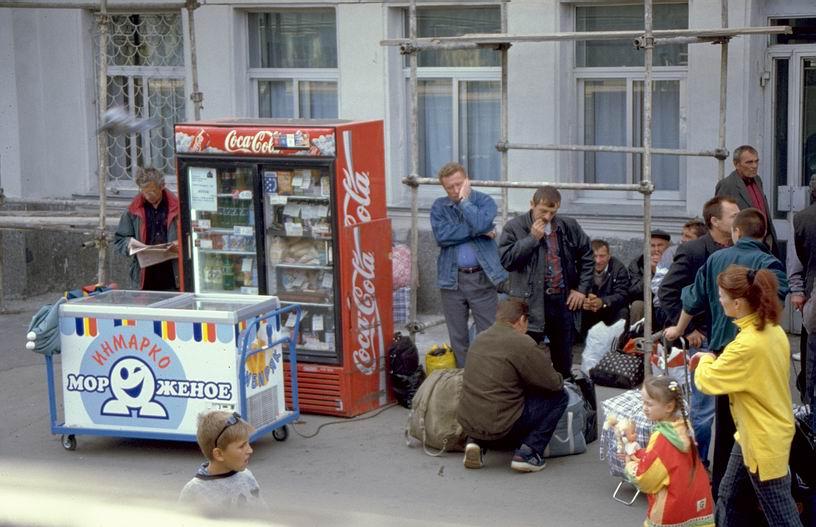 Coca Cola in Omsk ...