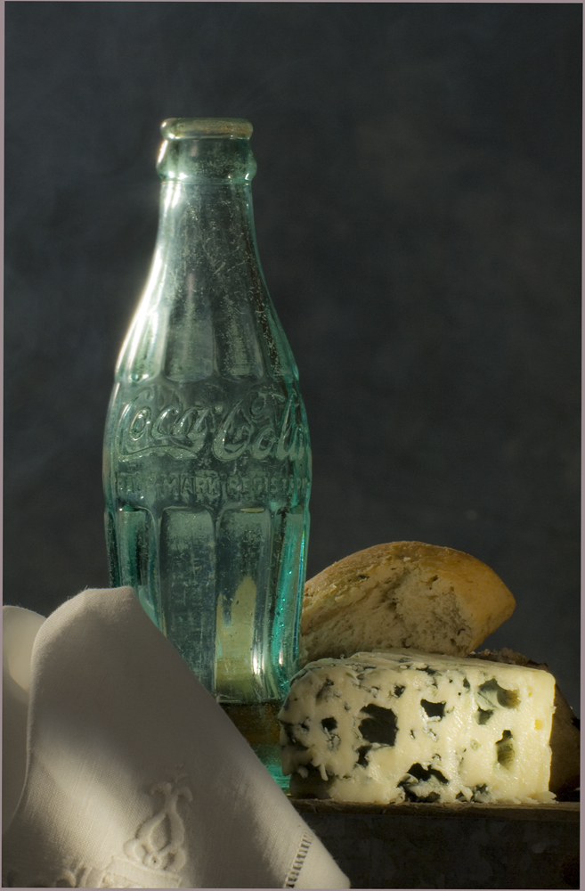 Coca Cola mit Käse