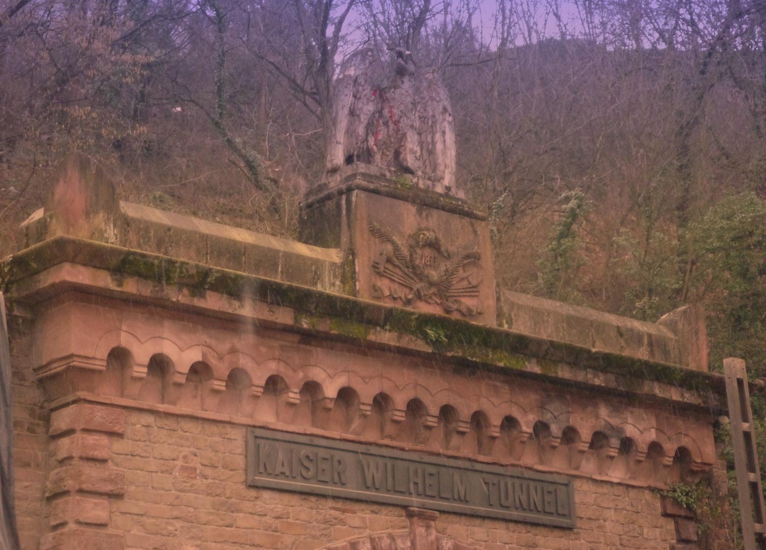 Cochem - Einfahrt zum Kaiser Wilhelm-Tunnel erbaut 1877