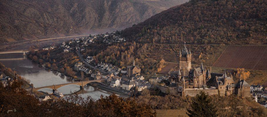 Cochem sur la Moselle
