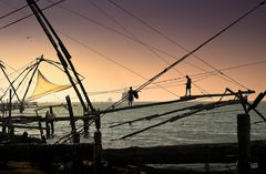Cochin ~ Chinese Fishernets