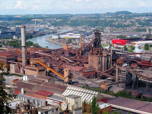 Cockerill Sambre, Stahlwerk (3)