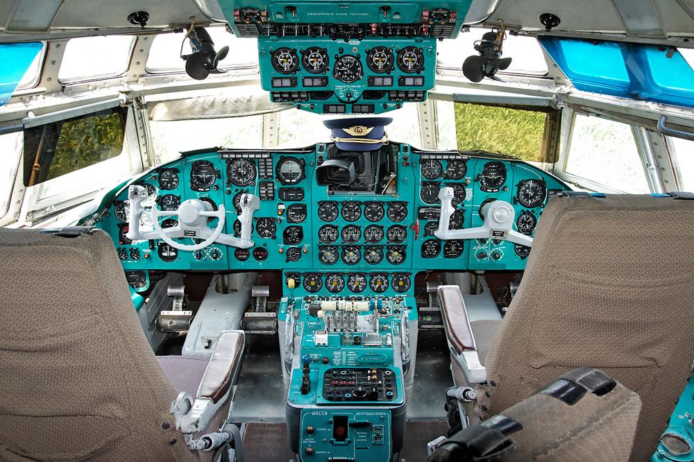 """Cockpit der """"Lady Agnes"""""""