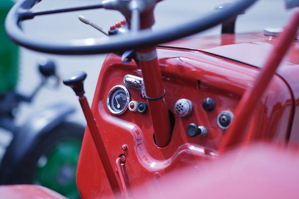 cockpit eines bulldogs