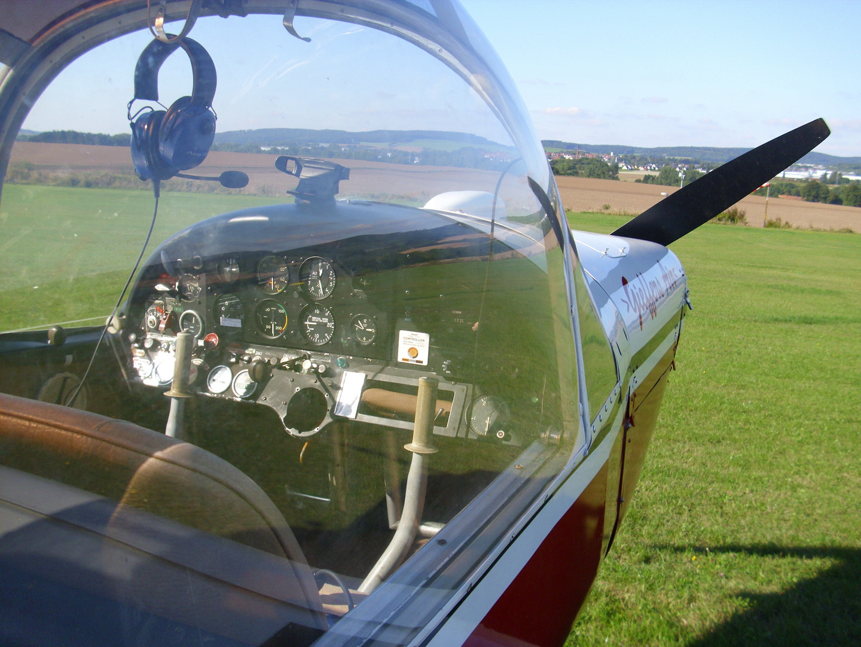 Cockpit Moran