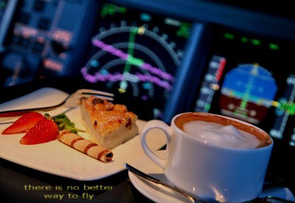 Cockpit Nachtisch