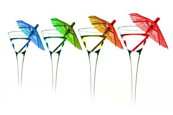Cocktail de couleurs