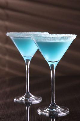 Cocktail mit Blue Curcao