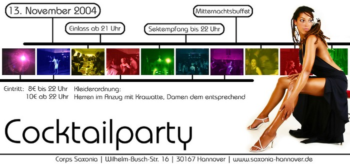 Cocktailparty Saxonia WS04/05