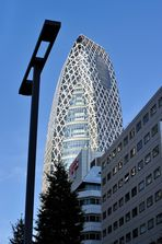Cocoon Tower in Shinyuku