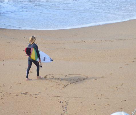 coeur surfer