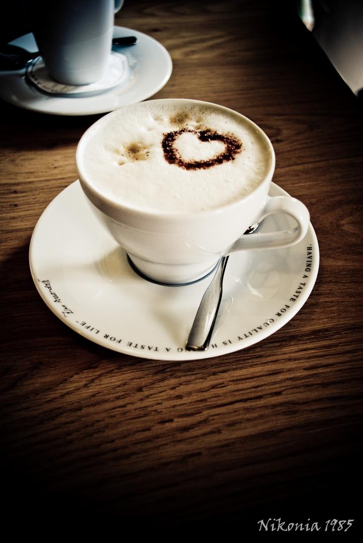 Coffee in my heart...