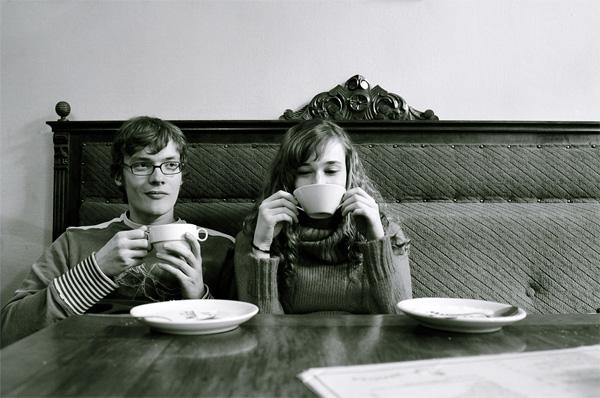 coffee, no cigarettes
