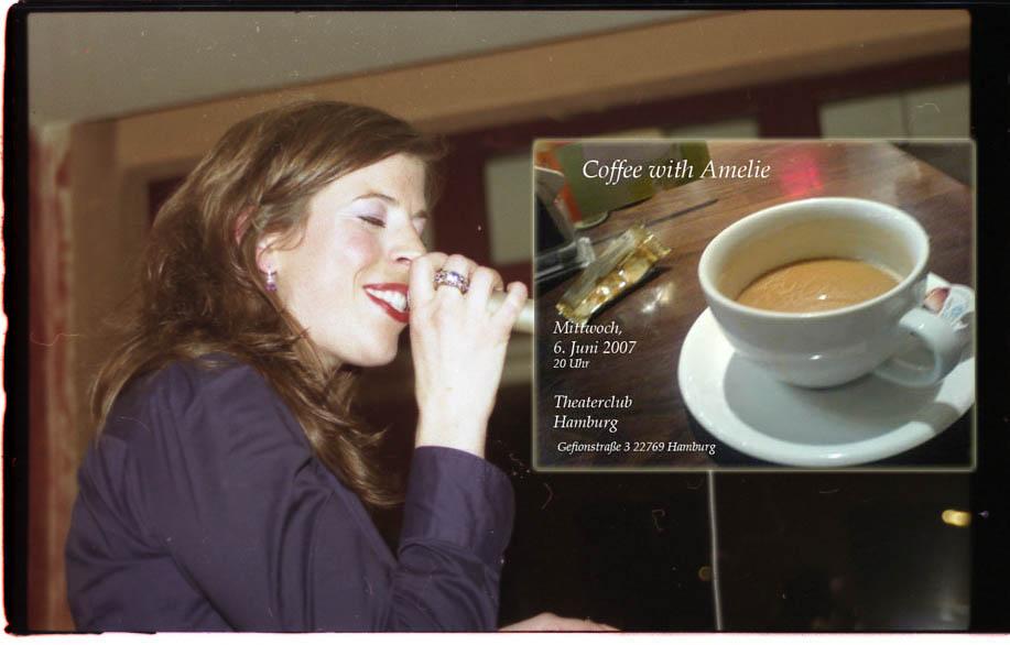 Coffee with Amelie Mittwoch im Theaterclub