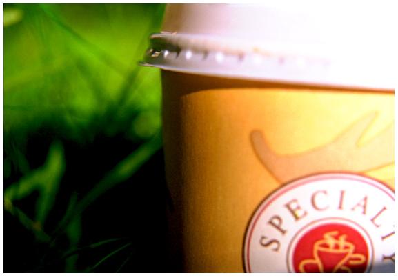 Coffeeshop im Freien
