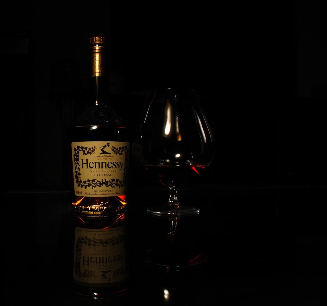 Cognac + Glas