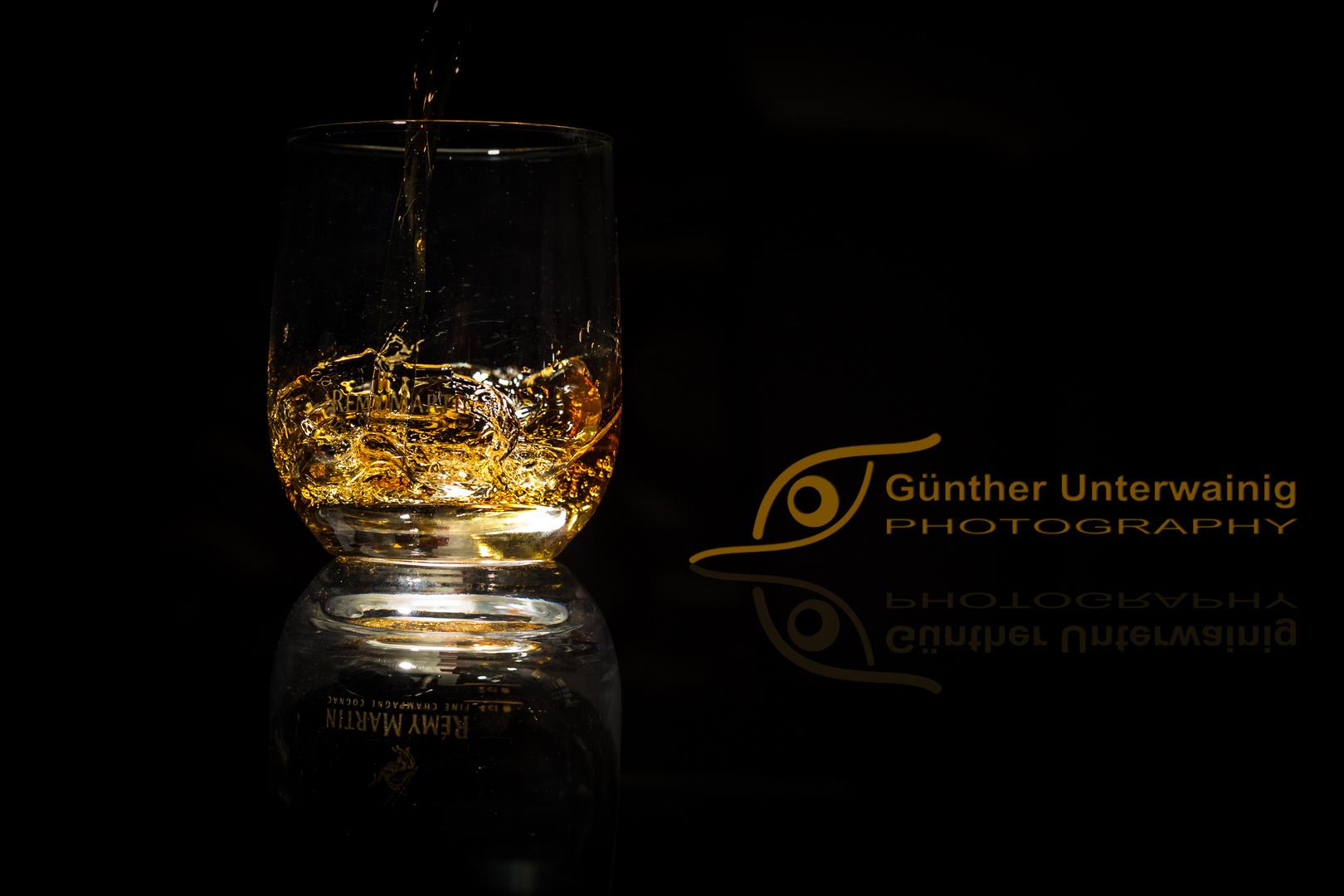 Cognac trinken