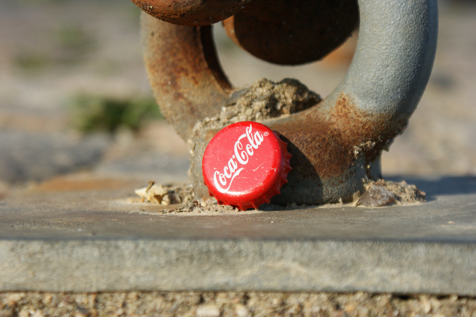 Coke bei 8° Grad