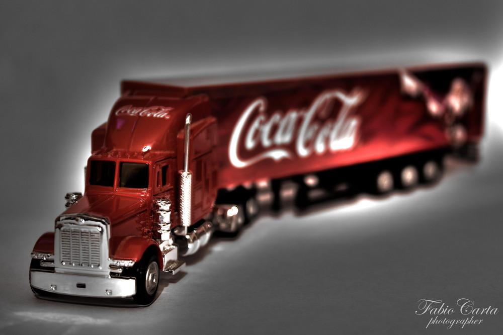 Coke Truck Vintage