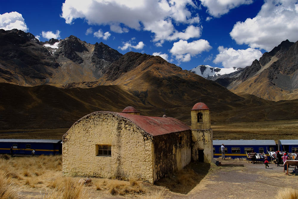 Col de la Raya, 4319 m., Pérou