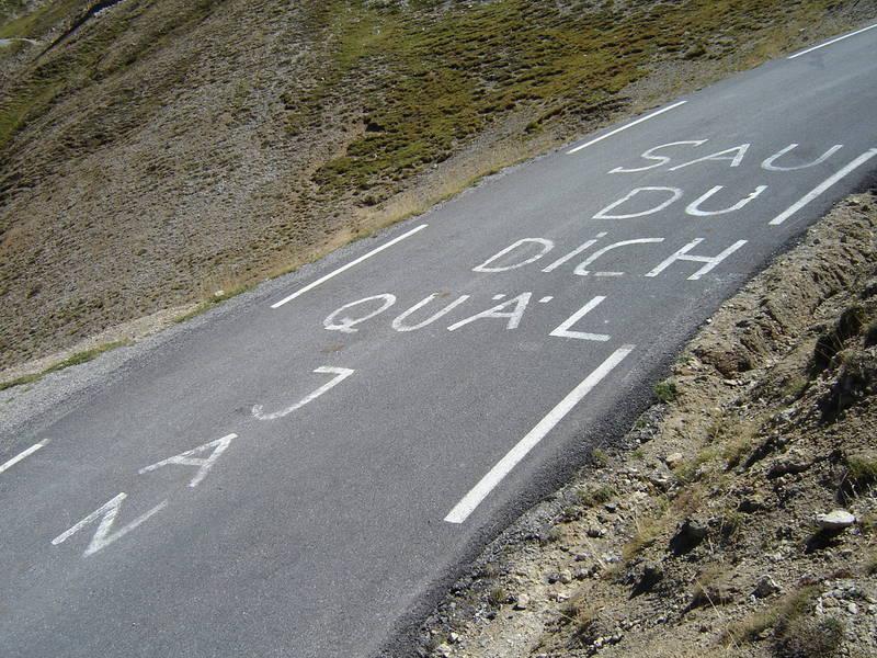 Col d´Izoard , Route des Grandes Alpes ,9/2005