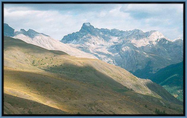 Col du Vars, Frankreich im Herbst 2002