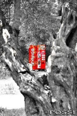 Cola auf dem trockenen