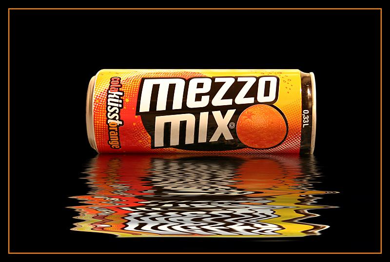 Cola küsst Orange