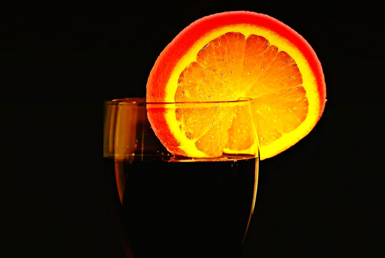 Cola mit Orange